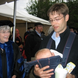 Eliza and Eric Meiers at Convocation